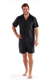 Harvey Black  Stripe férfi pizsama