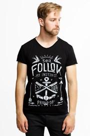 MF Instinct férfi póló