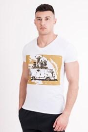 MF Travel férfi póló