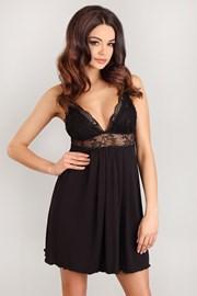Romantica Black luxus hálóing