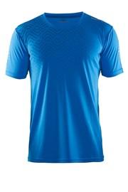 Craft Mind SS funkcionális férfi póló kék