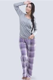 Anabell női pizsama, szürke