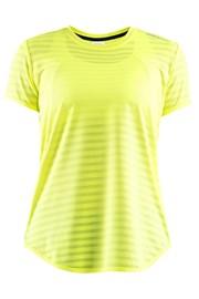 CRAFT Run Breakaway Two póló, neonsárga