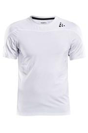 CRAFT Run Shade funkcionális férfi póló fehér