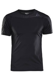 CRAFT Run Shade funkcionális férfi póló fekete