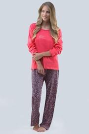 Blossom női pizsama, rózsaszín