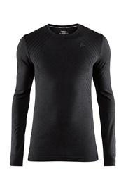 CRAFT Fuseknit Comfort Black férfi póló
