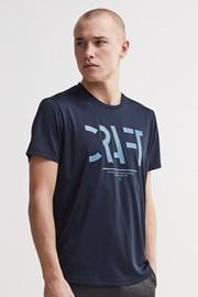 CRAFT Eaze Mesh férfi póló, sötétkék