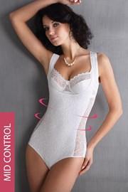 Leona alakformáló csipkés női body