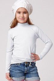 Jadea - pamut gyerek póló, álló gallérral