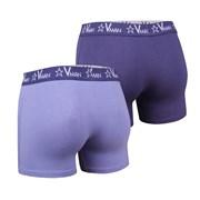 VIANIA Vman Blue Violet férfi boxeralsó 2 db-os csomagolás