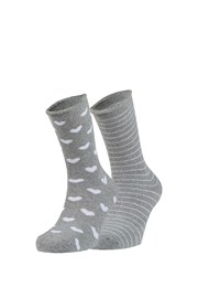 Tina meleg zokni, 2 pár 1 csomagban