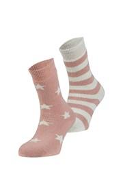 Estrella meleg zokni, 2 pár 1 csomagban
