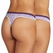 Violetta tanga, 2 db 1 csomagban