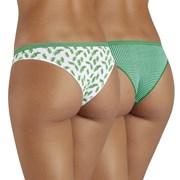 Leaf brazil női alsó, 2 db 1 csomagban