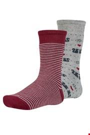 Risl meleg gyerek zokni, 2 pár 1 csomagban