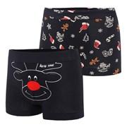 Christmas fiú boxeralsó két darabos kiszerelésben