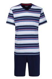 CECEBA Red XL plus férfi pizsama nem igényel vasalást