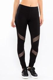 MF Black női sport leggings