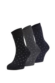 Alma meleg zokni, 3 pár 1 csomagban