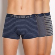 PRIMAL B157 férfi boxeralsó, 3 db-os csomagolás