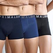 PRIMAL B203 férfi boxeralsó 3 db-os csomagolás