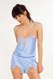 Marina női pizsama felsőrész, ujjatlan