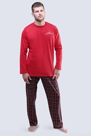 Blacksword férfi pizsama hosszú