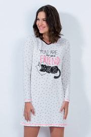 Cat friend női hálóing