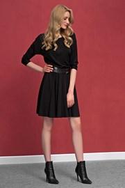 ... Altea Black romantikus női ruha finomkötésű anyagból 36df5bec06