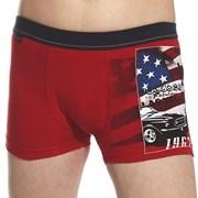 America fiú boxeralsó, piros