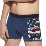 America fiú boxeralsó, kék
