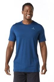 SMARTWOOL Merino 150 férfi póló, kék