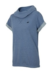 4F Blue trendi rövidujjú női szabadidőfelső