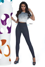 Blair női legging farmer dizájnnal