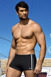LORIN Ignazio Black férfi úszónadrág