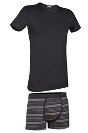 PRIMAL 166BA férfi szett - póló és boxeralsó