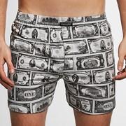 CORNETTE Classic Dollars férfi alsónadrág