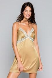 Savannah luxus hálóing, arany színben