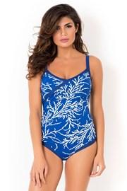 David Mare Blue Reef egyrészes női fürdőruha, merevítők nélkül