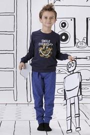 Smile everyday fiú pizsama