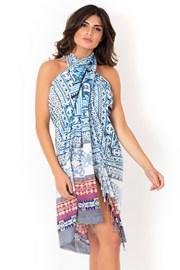 Strandkendő, pareo az olasz David Beachwear márka Gujarat kollekciójából 180x110 cm