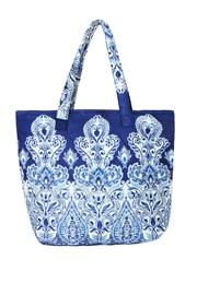Strandtáska az olasz David Beachwear márka Kerala kollekciójából, 36x46 cm