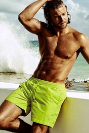 DAVID 52 Edgar Lime férfi úszóshort