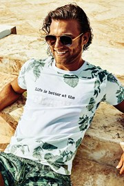 DAVID 52 Tropical férfi póló