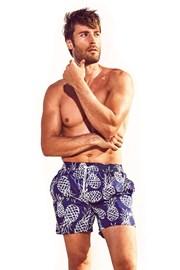 DAVID52 Pineapple Caicco férfi úszóshort