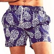DAVID52 Pineapple Caicco férfi fürdőshort