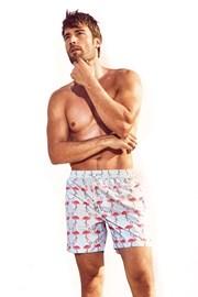 DAVID 52 Flamingo Caicco férfi úszóshort