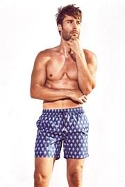 DAVID 52 Tie Print Caicco férfi úszóshort