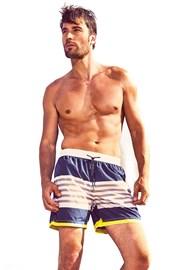 DAVID 52 Ocean Stripes Caicco férfi úszóshort